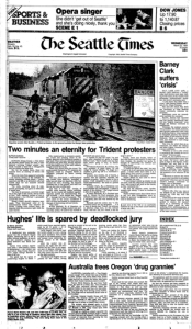 The Paul Stanford : White Train Seattle Times article 3-23-1983a